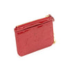 Louis Vuitton Red Vernis Coin Purse Wallet (Authentic Pre Owned)