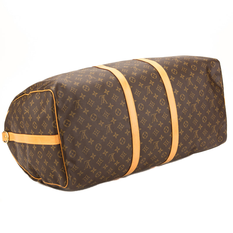 Louis Vuitton Monogram Keepall Bandouliere 60  (Pre Owned)