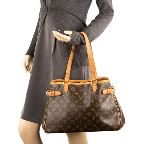 Louis Vuitton Monogram Batignolles Horizontal Bag (Authentic Pre Owned)