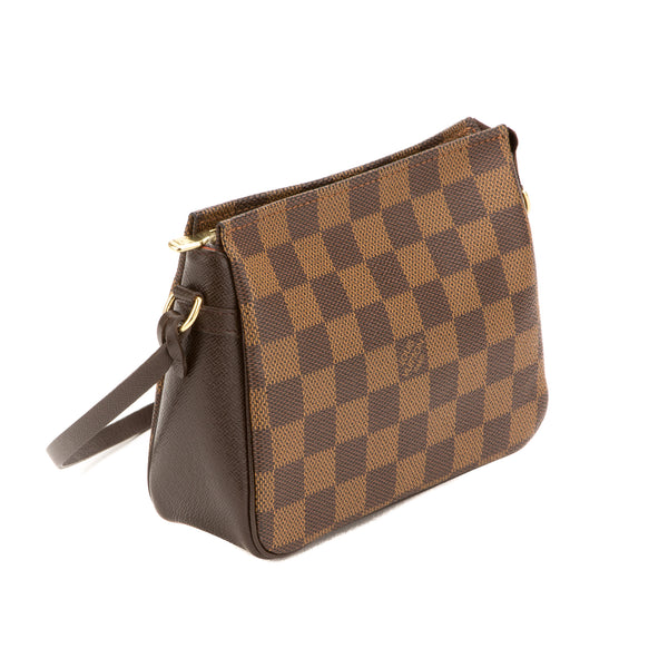 Louis Vuitton  Damier Ebene Trousse Cosmetic Pouch (Authentic Pre Owned)