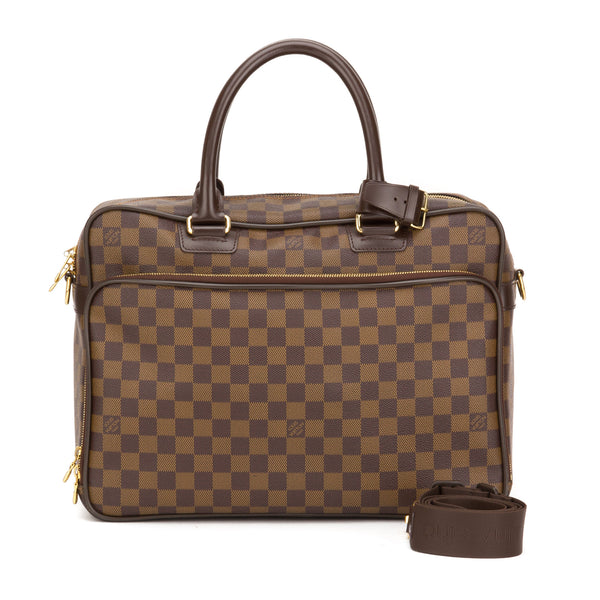 49aad455 Louis Vuitton Damier Ebene Icare Briefcase Bag (Pre Owned)
