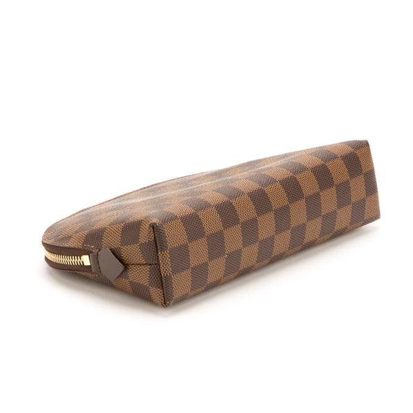 Louis Vuitton Damier Ebene Cosmetic Pouch GM (Pre Owned)
