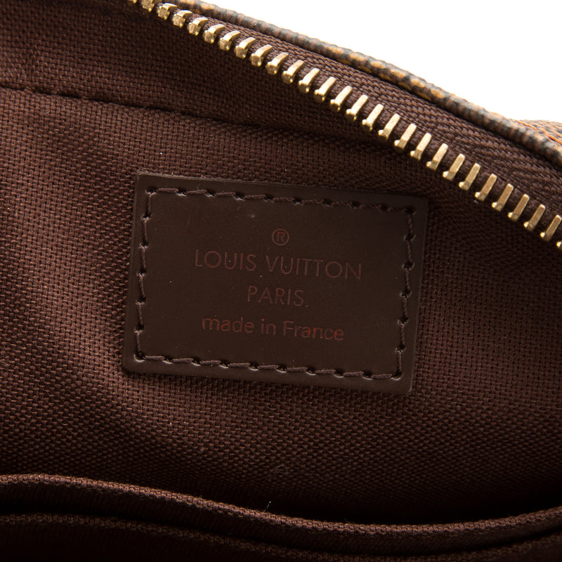 Louis Vuitton Damier Ebene Macao Clutch Bag (Authentic Pre Owned)