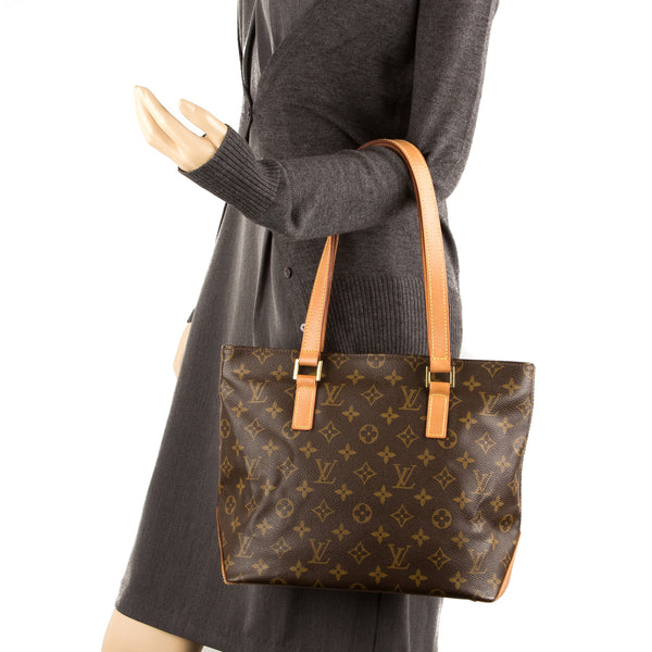 Louis Vuitton Monogram Cabas Piano Bag (Pre Owned)