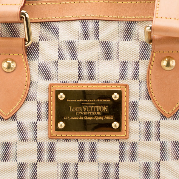 Louis Vuitton Damier Azur Hampstead PM Bag (Pre-Owned)