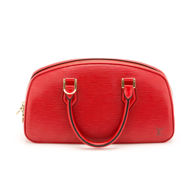 Louis Vuitton Red Epi Jasmin Bag (Authentic Pre Owned)