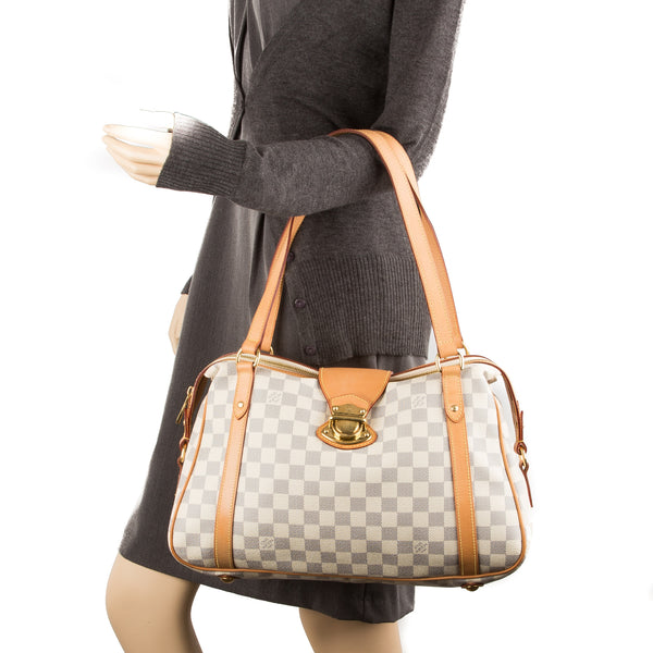 Louis Vuitton Damier Azur Stresa PM Bag (Authentic Pre Owned)