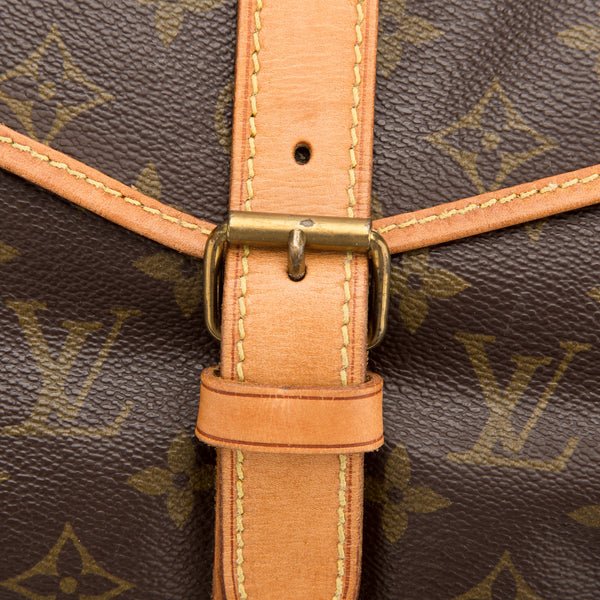 Louis Vuitton Monogram Saumur 35 Bag (Pre Owned)