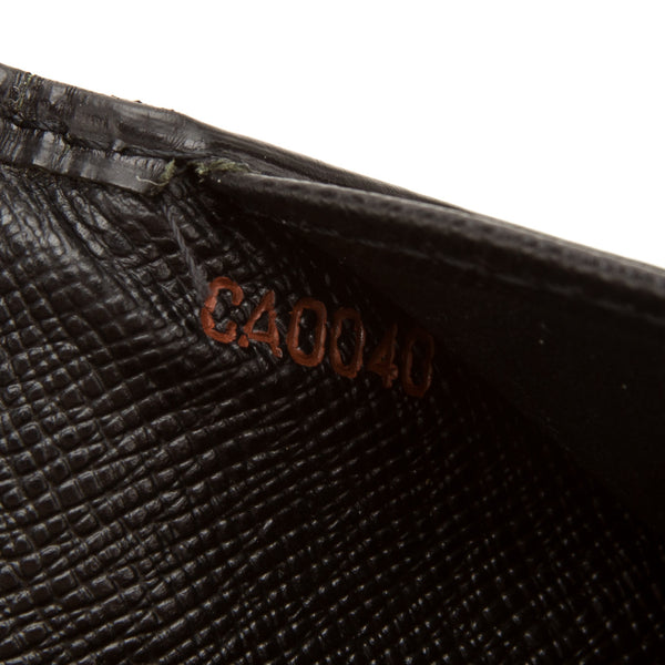 Louis vuitton Black Epi  Brazza Bifold Wallet (Pre Owned)