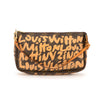 Louis Vuitton Stephen Sprouse Graffiti Pochette (Authentic Pre Owned)