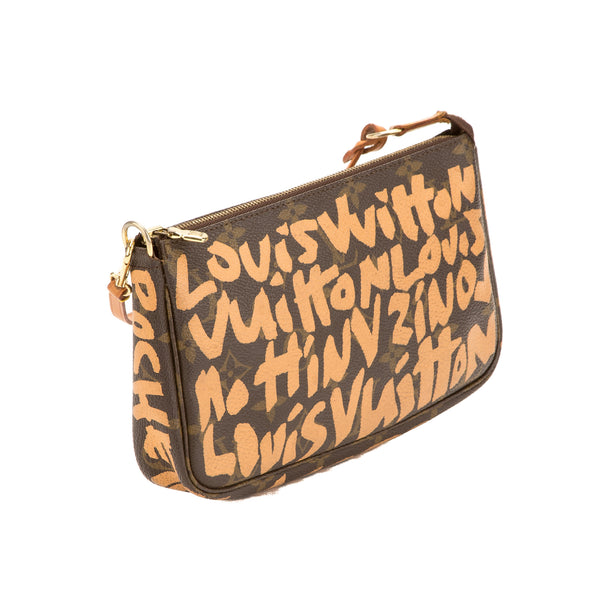 Louis Vuitton Stephen Sprouse Graffiti Pochette (Pre Owned)