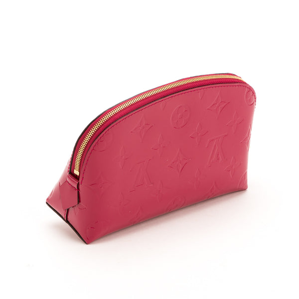Louis Vuitton Rose Vernis Pouch (Pre Owned)
