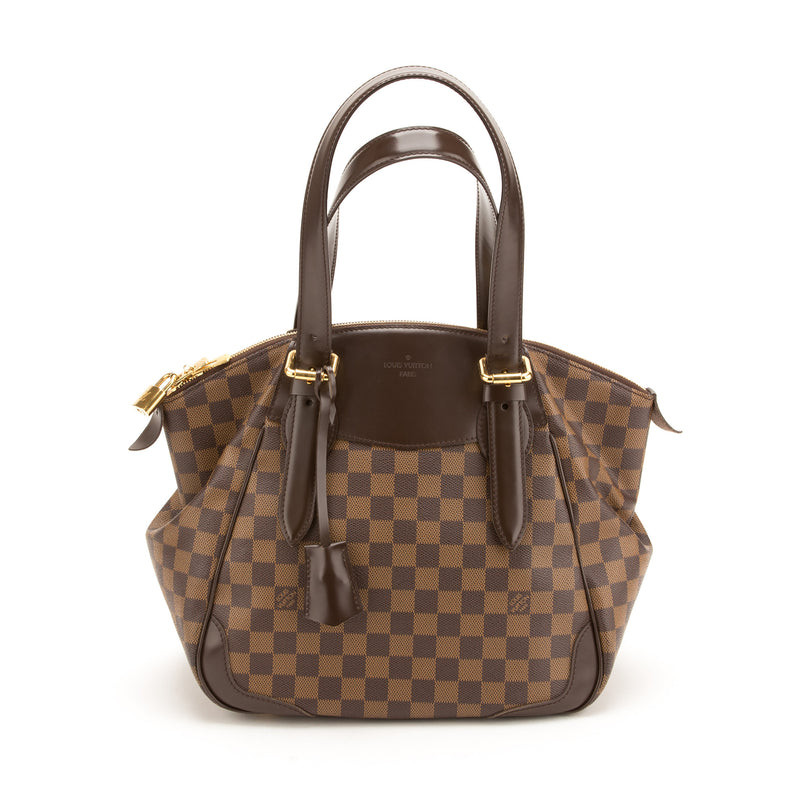 Louis Vuitton Damier Ebene Verona MM Bag (Authentic Pre Owned)