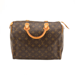 Louis Vuitton Monogram Speedy 30 Bag (Pre Owned)