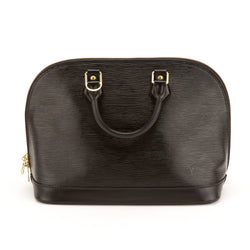 Louis Vuitton Epi Black Alma Bag (Authentic Pre-owned)