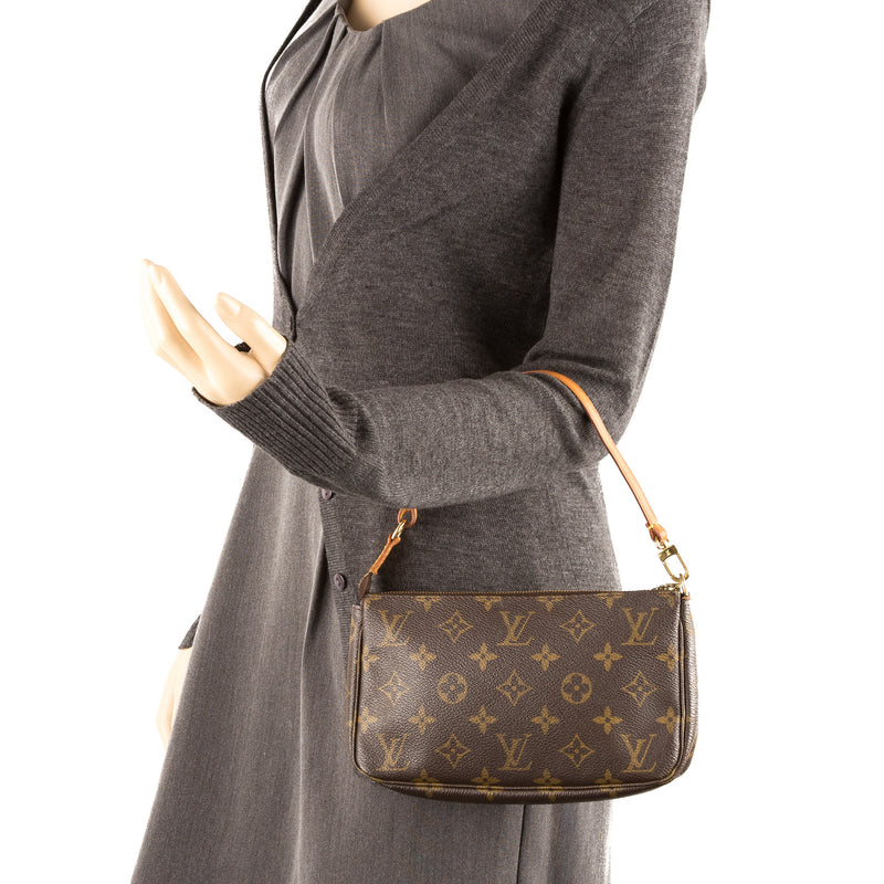 Louis Vuitton Monogram Canvas Pochette Bag  (Pre Owned)