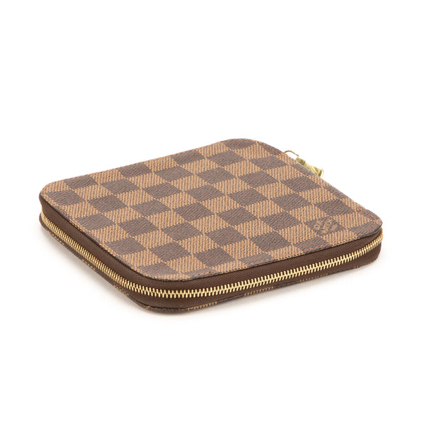 Louis Vuitton Damier Ebene Olav Card Wallet (Authentic Pre Owned)