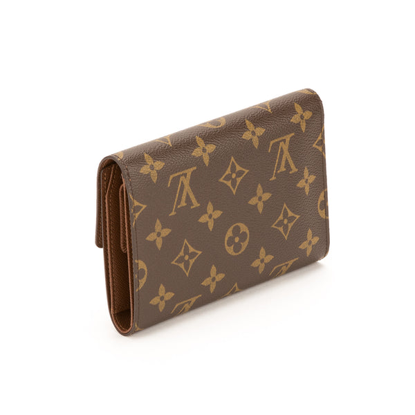 Louis vuitton Monogram Trifold Wallet (Pre Owned)