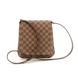 Louis Vuitton Damier Ebene Canvas Mussette Salsa (Pre Owned)