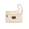 Michael Kors Vanilla Jet set Large Wristlet Large (New with Tags)