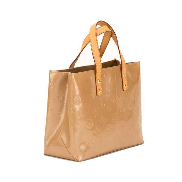 Louis Vuitton Beige Vernis Reade PM Bag (Pre Owned)