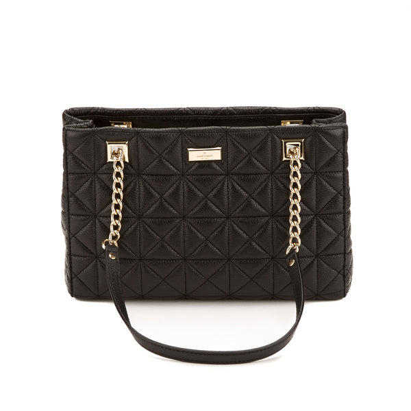 Kate Spade Black Leather Sedgewick Phoebe Small Bag (New with Tags)