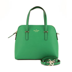 Kate Spade Green Leather Cedar Street Maise Satchel (New with Tags)