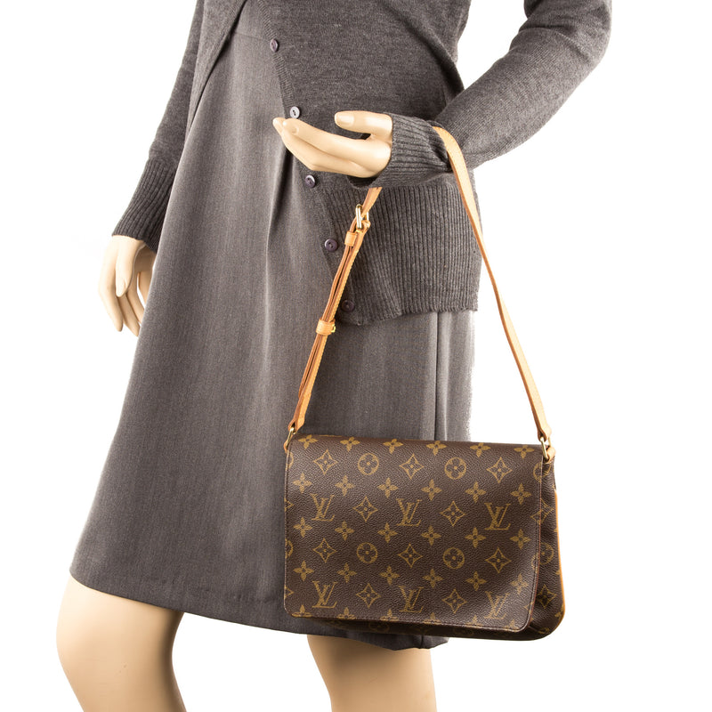 Louis Vuitton monogram Musette Tango Bag (Pre Owned)
