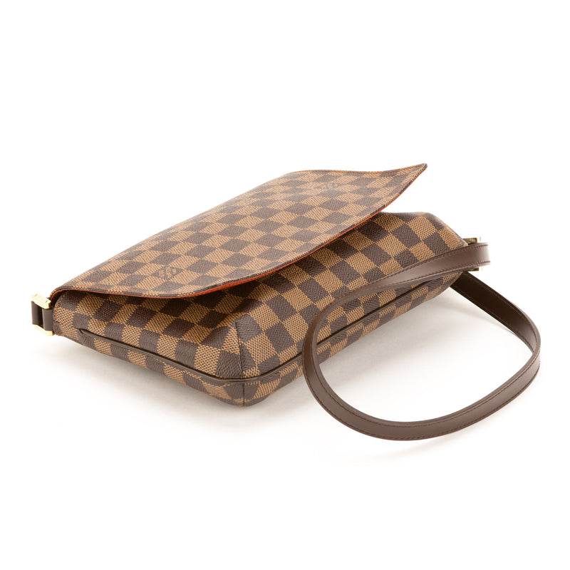 Louis Vuitton Damier Ebene Musette Tango Long Strap (Pre Owned)