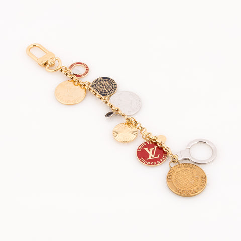 Louis Vuitton Multicolor T&B Key Holder Charm (Authentic Pre Owned)