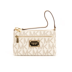 Michael Kors Vanilla Jet Set Large Wristlet (New with Tags)