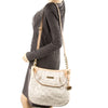 Michael Kors Beige Leather Bedford Convertible  Large Tote (New with Tags)