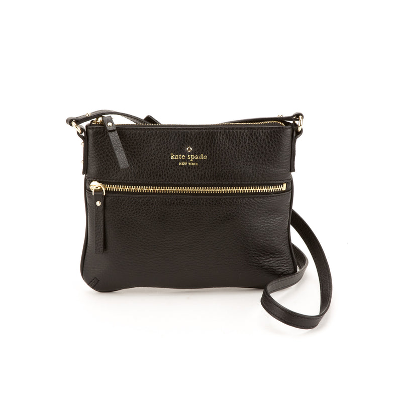 Kate Spade Black Leather Cobble Hill Tenley Crossbody (New with Tags)