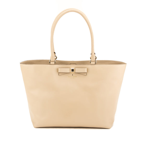 Kate Spade Beige Leather Holly Street Francis (New with Tags)