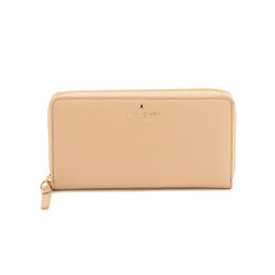 Kate Spade Beige Leather Cobble Hill Lacey Wallet (New with Tags)