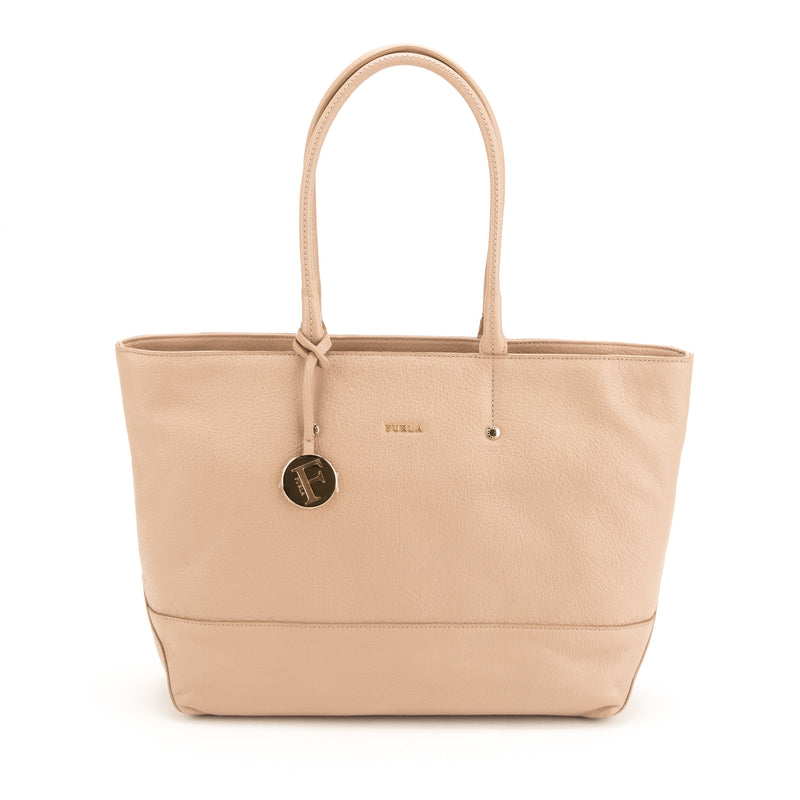 FURLA Beige Melissa E/W Medium Tote (New with Tags)