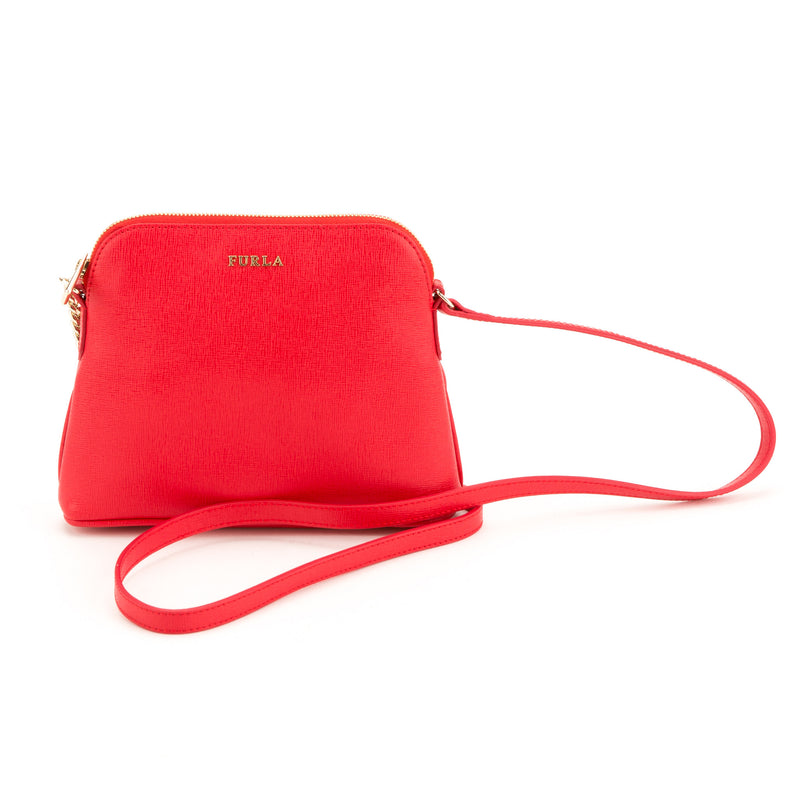 FURLA Red Meridienne Mini Bag (New with Tags)
