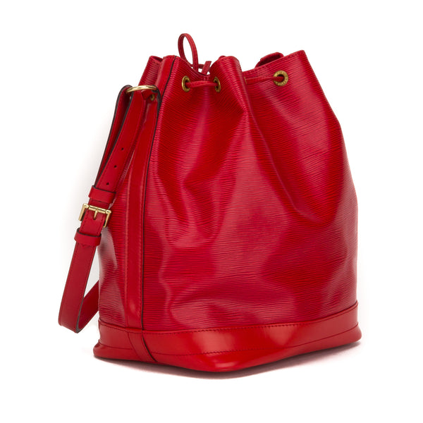 Louis Vuitton Red Epi Petit Noe Bag (Pre Owned)