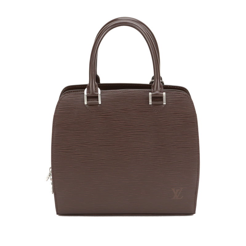 Louis Vuitton Brown Epi Pont Neuf Bag (Authentic Pre Owned)