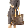 Louis Vuitton Monogram Cabas Mezzo Bag (Pre Owned)