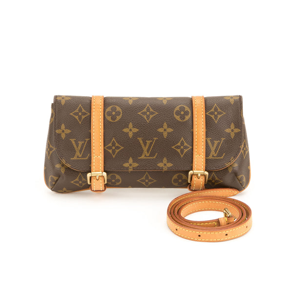 Louis Vuitton Monogram Pochette Marelle Bum Bag (Pre Owned)