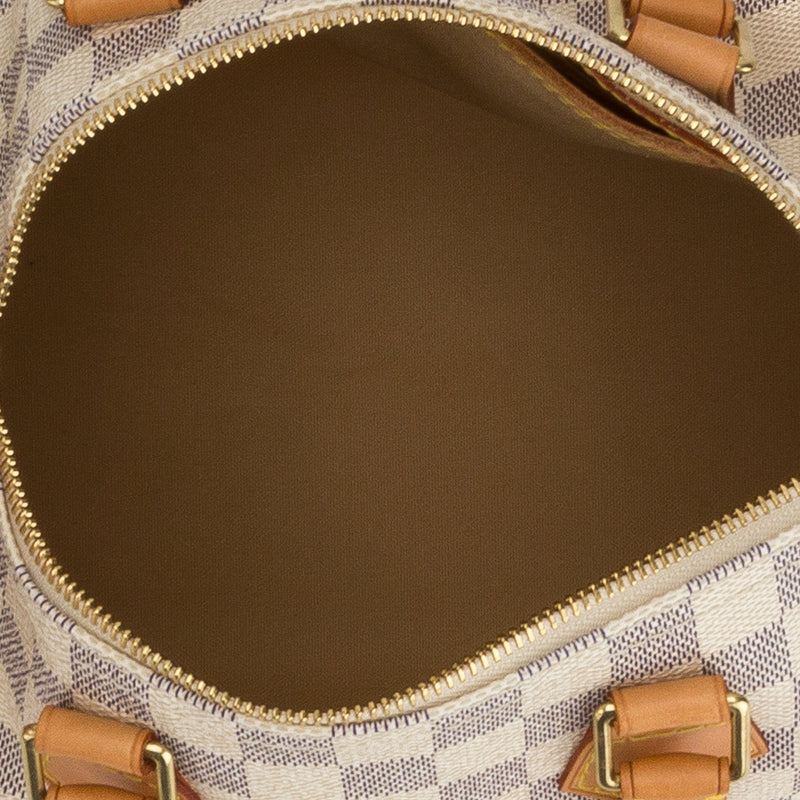 Louis Vuitton Damier Azur Speedy 25 Bag (Authentic Pre Owned)