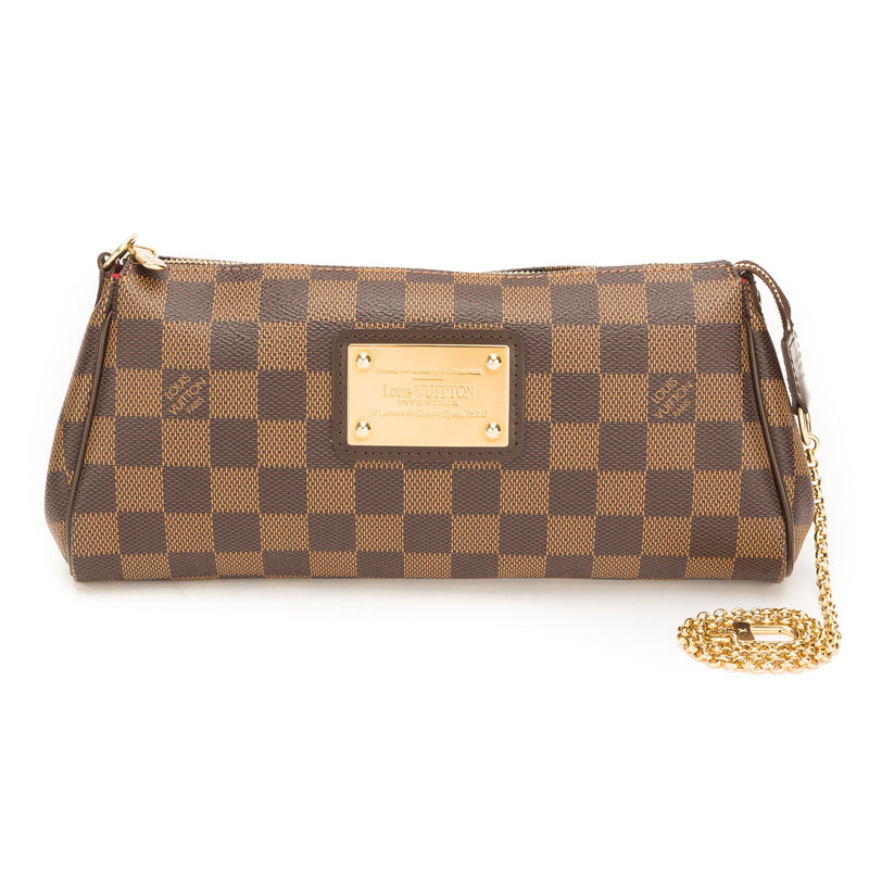 Louis Vuitton Damier Ebene Eva Bag (Pre Owned)