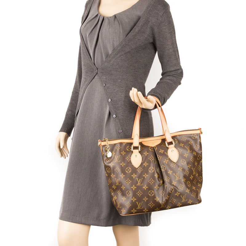 Louis Vuitton Monogram Palermo PM Tote (Authentic Pre Owned)