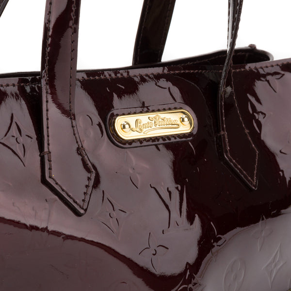 Louis Vuitton Vernis Amarante Wilshire PM Tote Bag (Pre Owned)