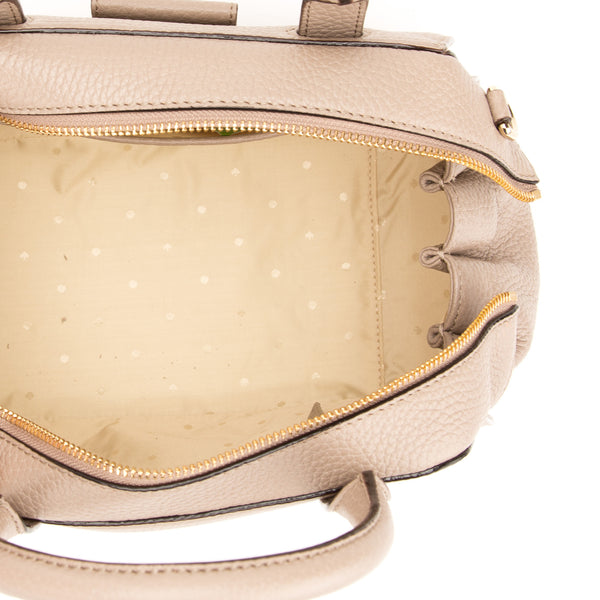 Kate Spade Beige Leather Alice Street Small Adriana  (New with Tags)