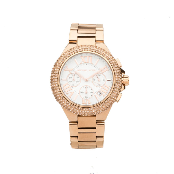 Michael Kors Rose Gold Camille Watch (New with Tags)