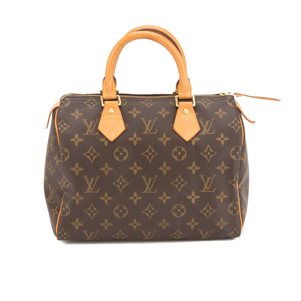 Louis Vuitton Monogram Speedy 25 Bag (Authentic Pre Owned)