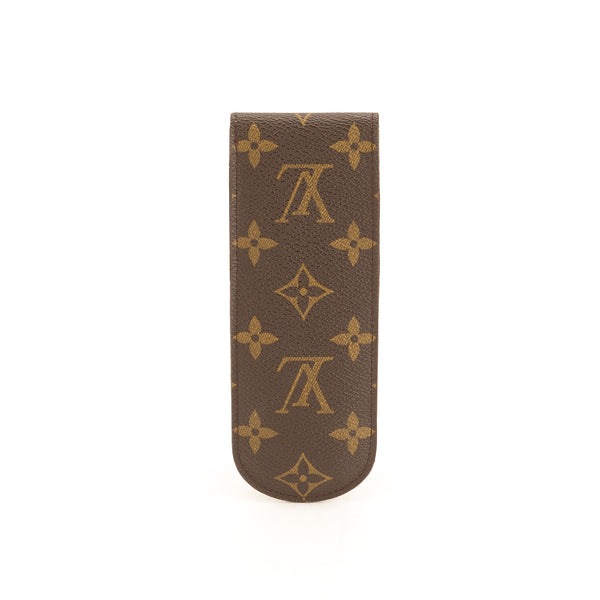 Louis Vuitton Monogram Etui Pen case Pouche (Pre Owned)