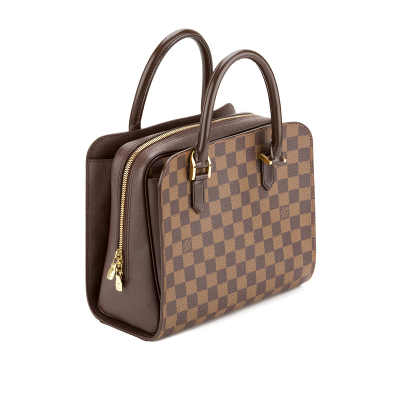 Louis Vuitton Damier Ebene Triana Bag (Pre Owned)